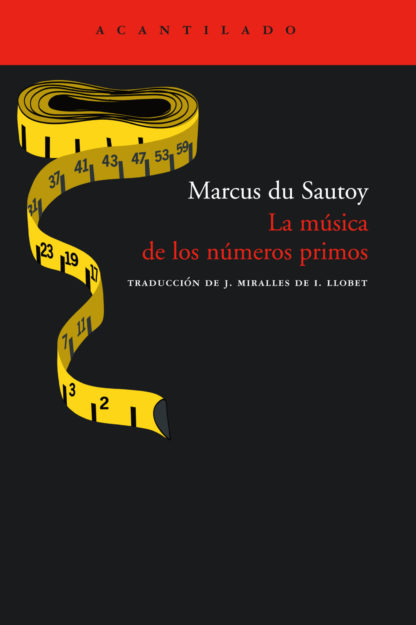 Cubierta del libro La música de los números primos