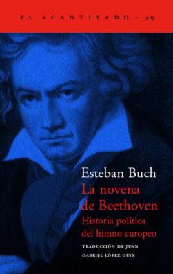 Cubierta del libro La novena de Beethoven