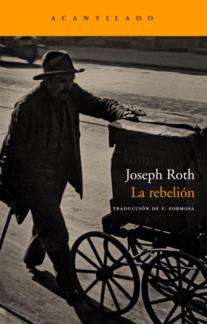 Cubierta del libro La rebelión