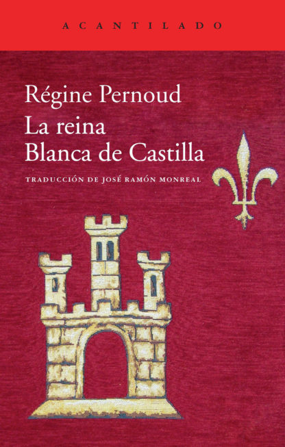 Cubierta del libro La reina Blanca de Castilla
