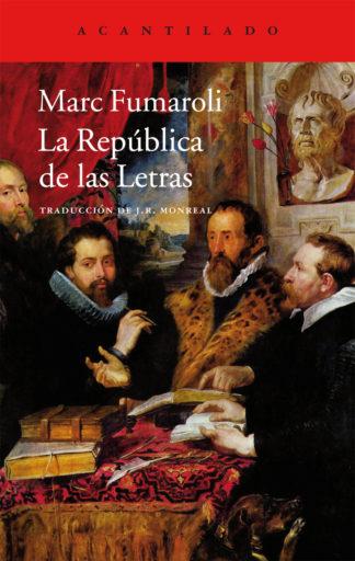 Cubierta del libro La República de las Letras