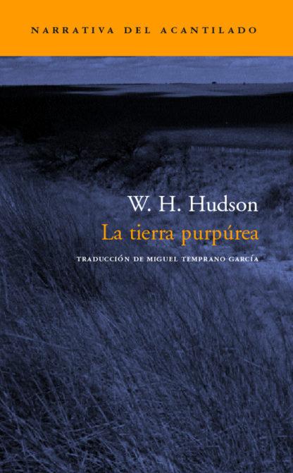 Cubierta del libro La tierra purpúrea