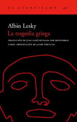 Cubierta del libro La tragedia griega