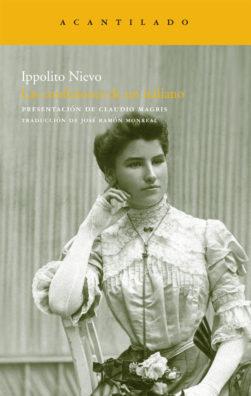 Cubierta del libro Las confesiones de un italiano