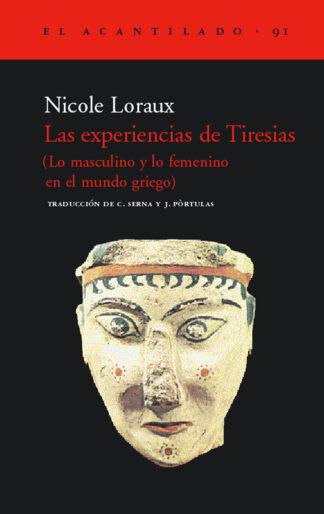 Cubierta del libro Las experiencias de Tiresias