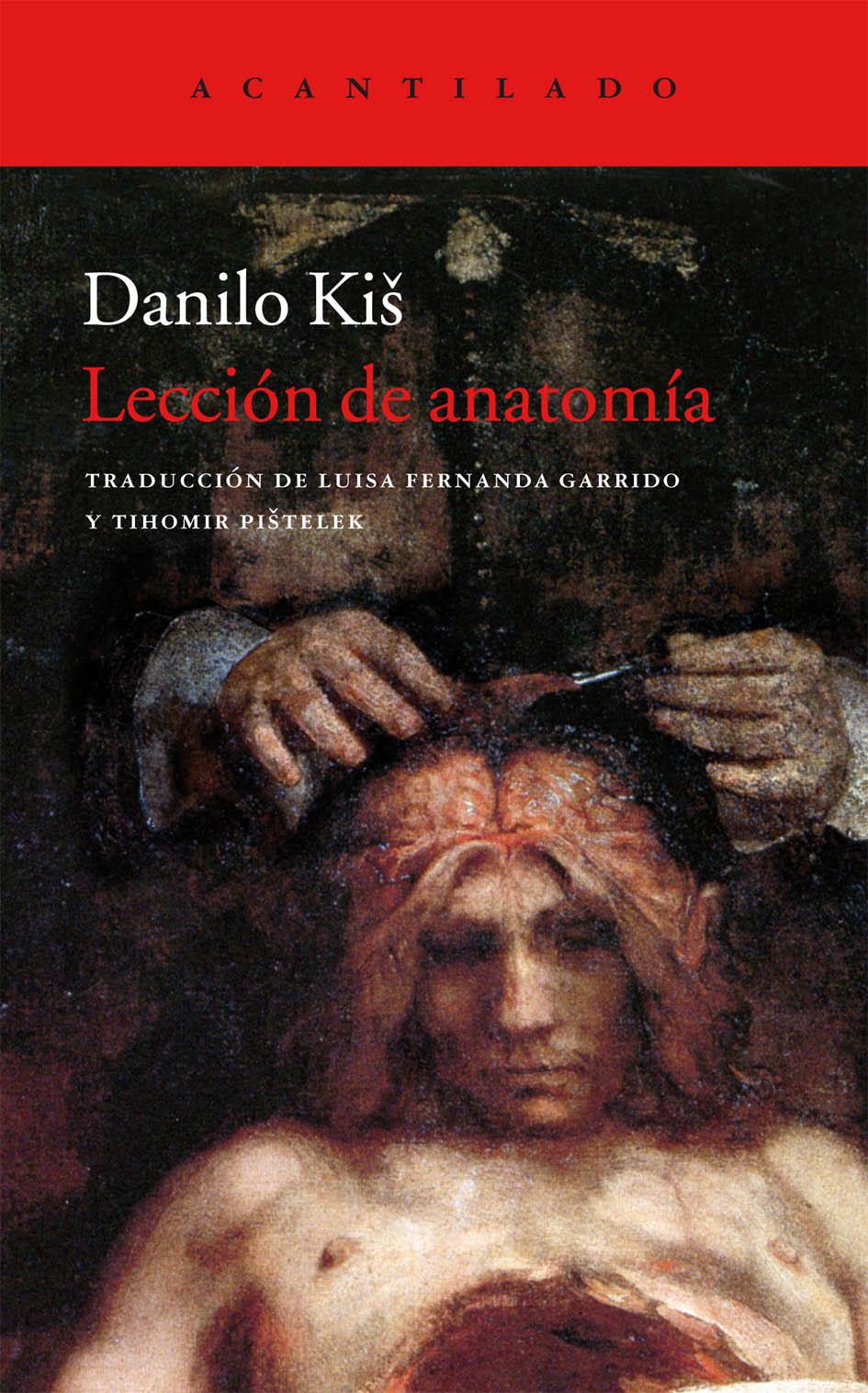 Lección de anatomía   Editorial Acantilado