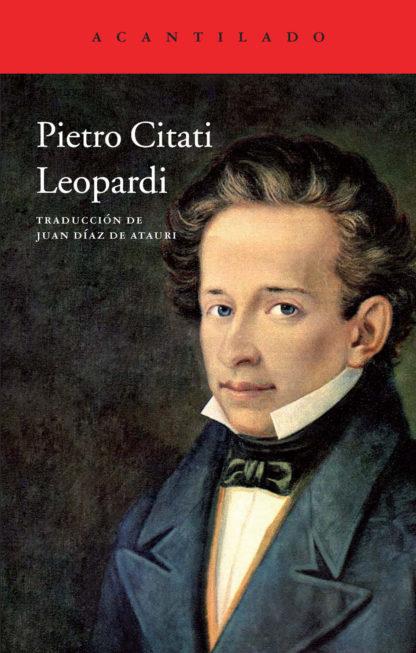 Cubierta del libro Leopardi
