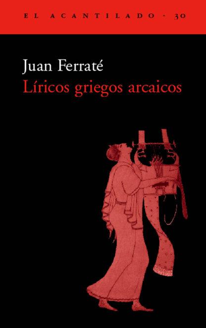 Cubierta del libro Líricos griegos arcaicos