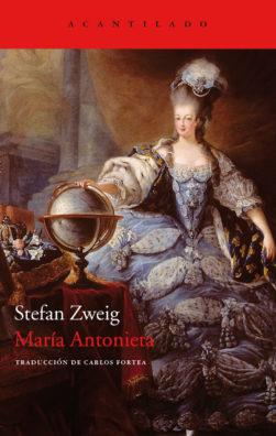 Cubierta del libro María Antonieta