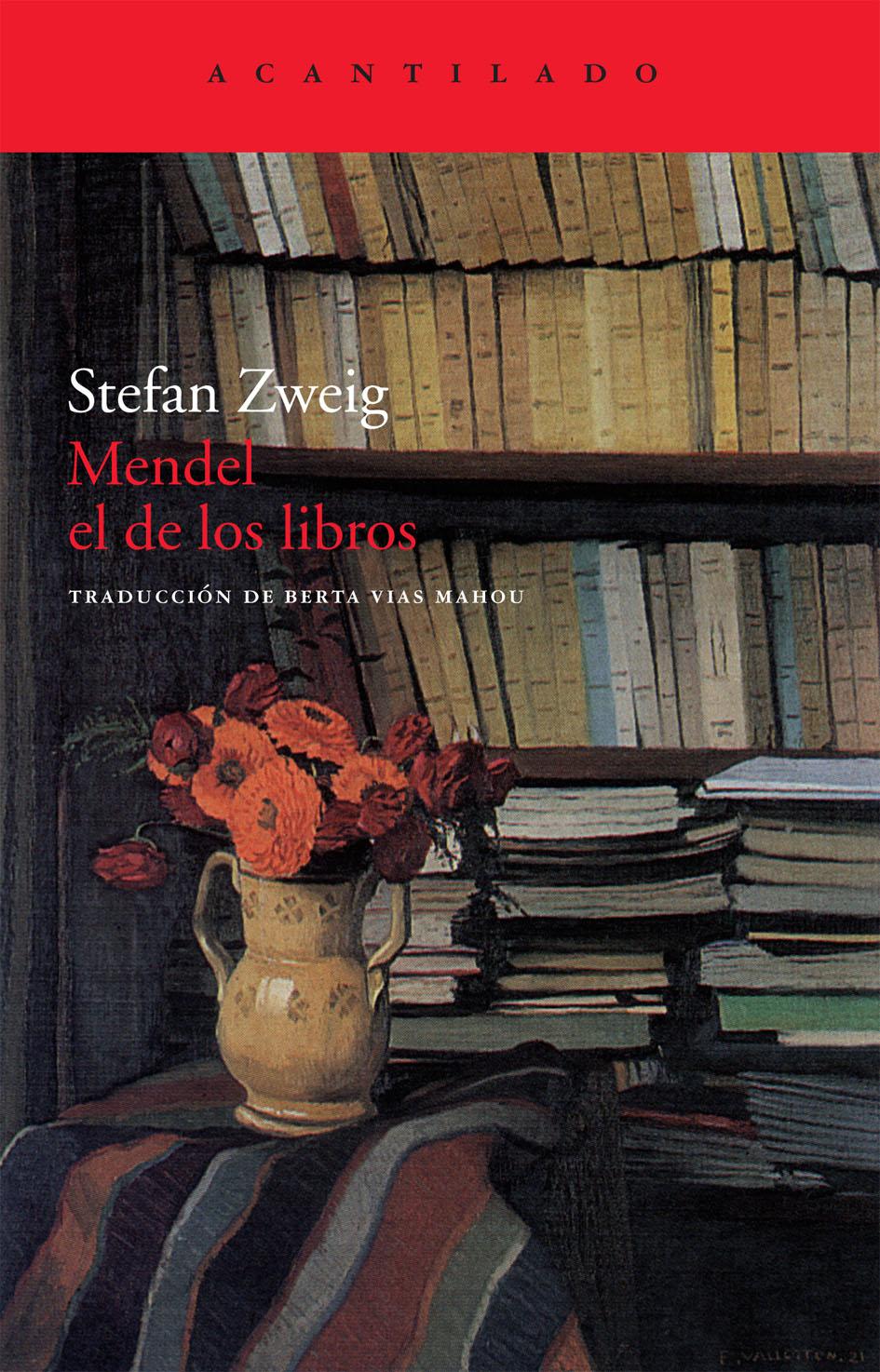 Resultado de imagen de Mendel el de los libros Stefan Zweig