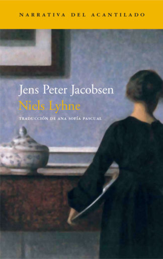 Cubierta del libro Niels Lyhne