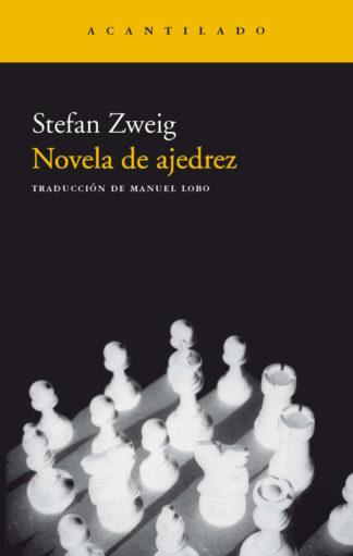Cubierta del libro Novela de ajedrez