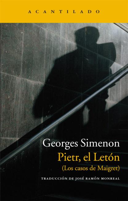 Cubierta del libro Pietr