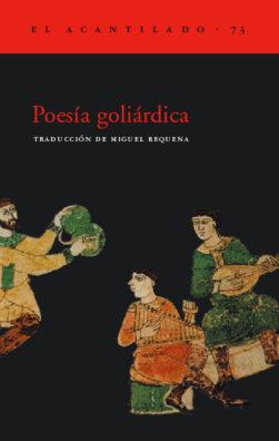 Cubierta del libro Poesía goliárdica