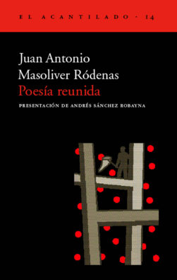 Cubierta del libro Poesía reunida