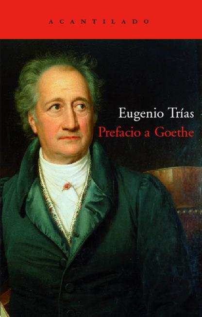 Cubierta del libro Prefacio a Goethe