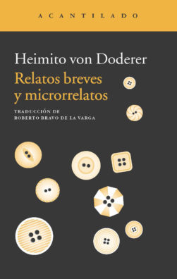 Cubierta del libro Relatos breves y microrrelatos
