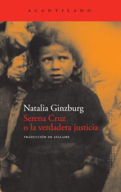 Cubierta del libro Serena Cruz o la verdadera justicia