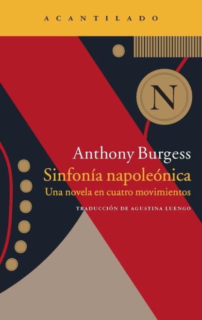 Cubierta del libro Sinfonía napoleónica