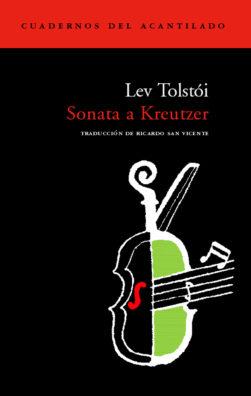 Cubierta del libro Sonata a Kreutzer