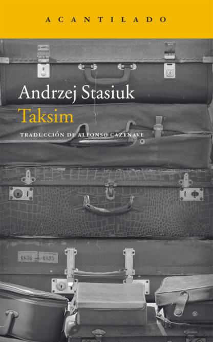 Cubierta del libro Taksim