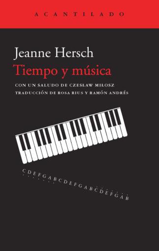 Cubierta del libro Tiempo y música