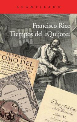 Cubierta del libro Tiempos del «Quijote»
