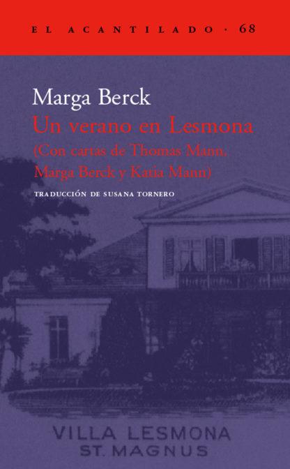 Cubierta del libro Un verano en Lesmona