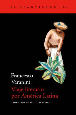 Cubierta del libro Viaje literario por América Latina