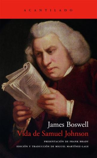 Cubierta del libro Vida de Samuel Johnson
