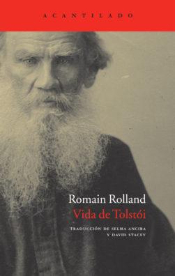 Cubierta del libro Vida de Tolstói