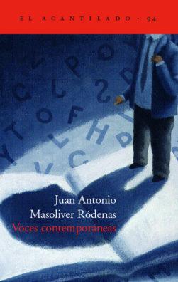 Cubierta del libro Voces contemporáneas