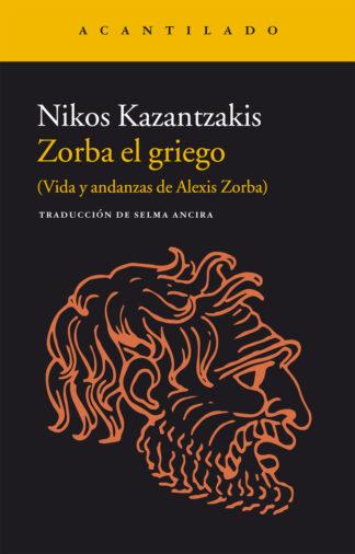 Cubierta del libro Zorba el griego