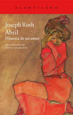 Cubierta del libro Abril