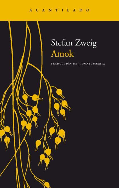 Cubierta del libro Amok