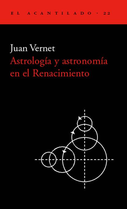 Cubierta del libro Astrología y astronomía en el Renacimiento