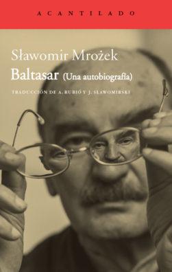 Cubierta del libro Baltasar