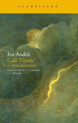 Cubierta del libro Café Titanic
