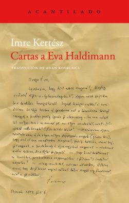 Cubierta del libro Cartas a Eva Haldimann