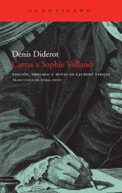 Cubierta del libro Cartas a Sophie Volland