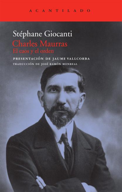 Cubierta del libro Charles Maurras