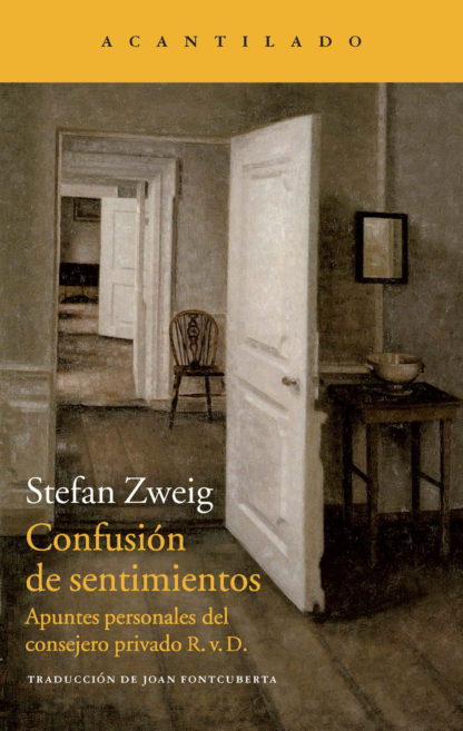 Cubierta del libro Confusión de sentimientos
