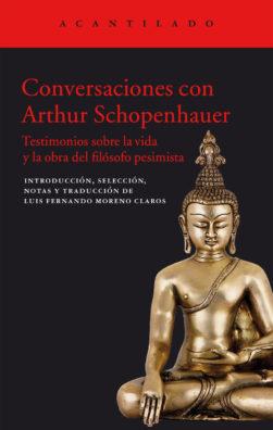 Cubierta del libro Conversaciones con Arthur Schopenhauer
