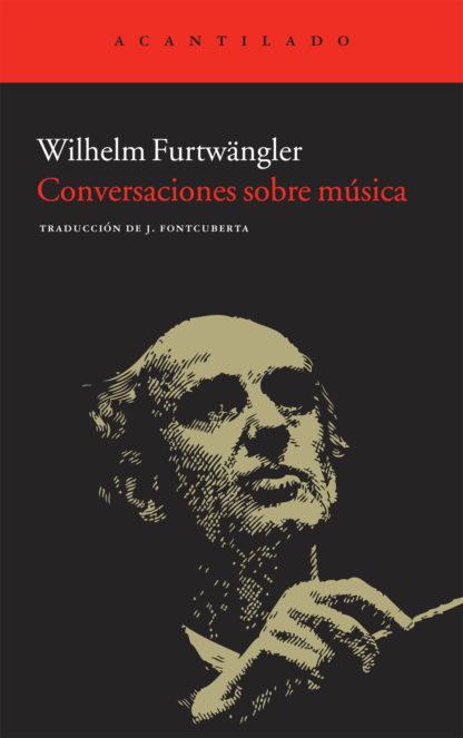 Cubierta del libro Conversaciones sobre música