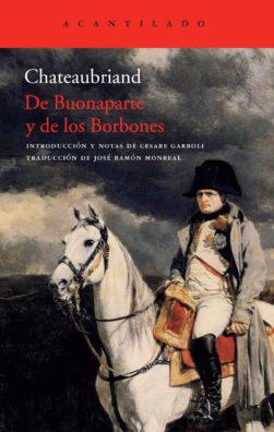 Cubierta del libro De Buonaparte y de los Borbones