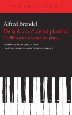 Cubierta del libro De la A a la Z de un pianista