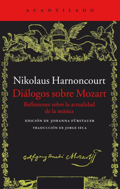 Cubierta del libro Diálogos sobre Mozart