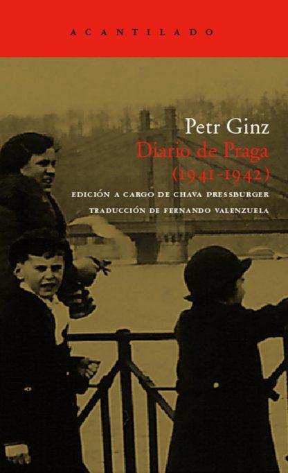 Cubierta del libro Diario de Praga (1941-1942)