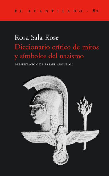Cubierta del libro Diccionario crítico de mitos y símbolos del nazismo
