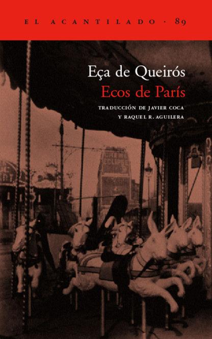 Cubierta del libro Ecos de París
